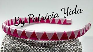 Como encapar tiara 💖 Dy 💖 By Patrícia Yida
