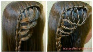 Folded Feather Braid, Braided Hairstyles