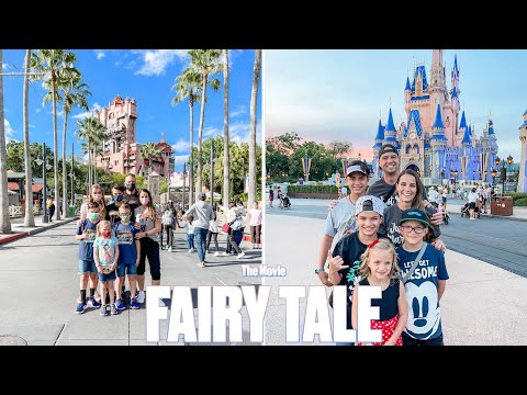 FAIRY TALE DISNEY WORLD FAMILY VACATION WITH STORYBOOK ENDING THE MOVIE