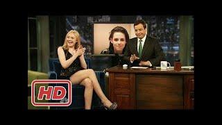 [Talk Shows]Kristen Stewart asks Dakota about Kissing Kristen Stewart