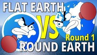 THE HORIZON | Flat Earth vs Round Earth - Round 1