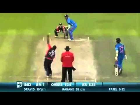 Xxx Mp4 Rahul Dravid Hits QuotHatrick SIXquot Against England In His First And Last T20 Match HD 3gp Sex