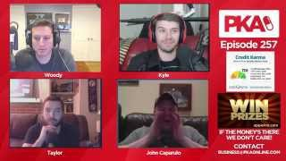 PKA 258 w/John Caparulo  Comedy Talk, 9-11, Secret Moon Base