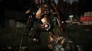 Let's Play Half-Life 2 Cinematic Mod - Part 05 - No Commentary [4k]