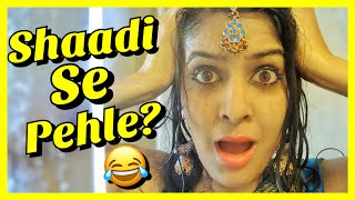 Things Indian Girls Say before going to a Wedding | #AnishaTalks