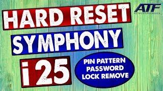 SYMPHONY i25 HARD RESET