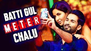 Shahid Kapoor And Katrina Kaif Together In Batti Gul Meter Chalu