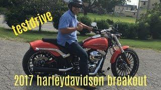 2017 Harley Davidson Breakout Test drive