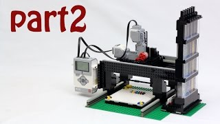 The LEGO Printer Project - Part 2