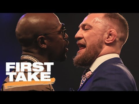 Max Kellerman: Mayweather-McGregor is all about the money | First Take | ESPN