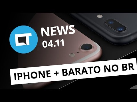 Preços do iPhone 7 no Brasil, Whatsapp com recursos do Snap, país inteiro sem Internet e + [CTNews]