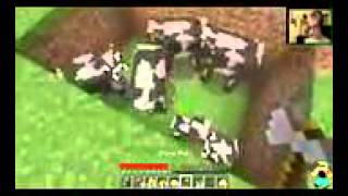 Minecraft Survival Collecting food 144p Video Only