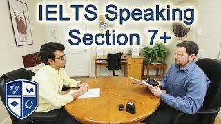 IELTS Speaking  7.5 with Arabic Learner