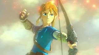 Every The Legend Of Zelda Breath Of The Wild Trailer 2014-2017