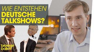 Wie entstehen deutsche Talkshows?
