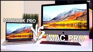 MacBook Pro vs. iMac Pro!