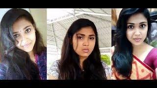 Tamil So Cute girl Anju All Dubsmash HD Video_ Tamil cute girl Dubsmash