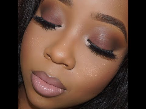 Back to School Mauve Glamour Makeup