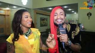 EXCLUSIVE INTERVIEW: TONTO DIKEH & DENRELE AT MISS GRAND NIGERIA 2015