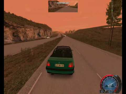 World Racing 2 VW Golf 3 Cabriolet drive