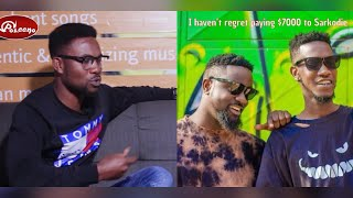 I haven't regret paying Sarkodie $7000 for meye Guy remix - Ypee on EnterChat with Papa J