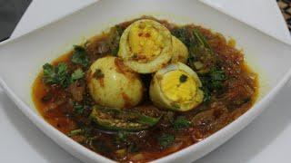 Ubley Andon Ka Salan  { Boiled  Eggs Curry }