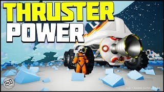 THRUSTER, Large Rover and Hydrazine! Astroneer Update 6.5 E5 | Z1 Gaming
