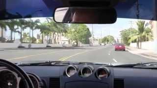 Drive Guam 19 - Airport road to Sheraton.