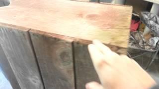 DIY Deacon Bench Planter Box
