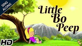 Little Bo Peep Has Lost Her Sheep (HD) SING ALONG Nursery Rhyme | Nursery Rhymes | Shemaroo Kids