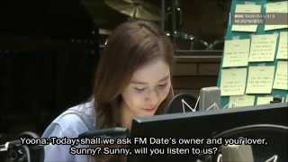 [ENG SUB] 140819 Yoona (SNSD) on Sunny's FM Date - Part 1/5