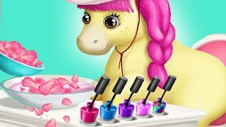 Pony Sisters Hair Salon - Play The Cutest Pony Makeover Video Gameplay