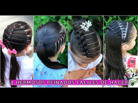 Xxx Mp4 4 HERMOSOS PEINADOS RAPIDOS Y FACILES DE HACER 2018 4 QUICK Amp EASY HAIRSTYLES 2018 3gp Sex