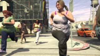 GTA V BBW Movie - Run!