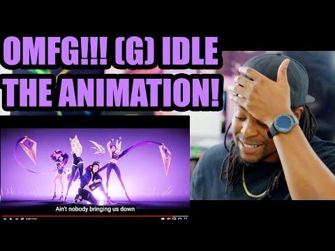 G I DLE K DA POP STARS ft Madison Beer Jaira Burns MV League of Legends Reaction