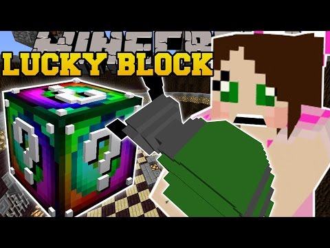 Minecraft TOO MANY EXPLOSIVES LUCKY BLOCK CHALLENGE GAMES Lucky Block Mod Modded Mini Game