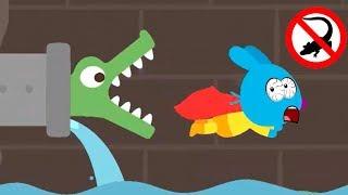 Fun Sago Mini Cartoon Kids Games - Play Funny Sago Pet Rabbit Superhero City Amazing Rescue Mission