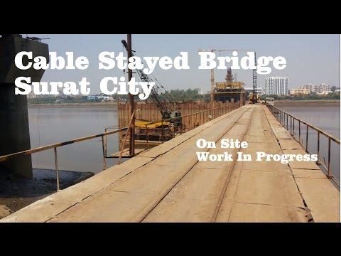 Xxx Mp4 Surat Cable Stayed Bridge Athwa To Adajan Pal Surat City Gujarat 3gp Sex