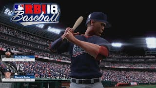 R.B.I. Baseball 18 Gameplay MLB Home Run Derby featuring Giancarlo Stanton Nationals Park Xbox One