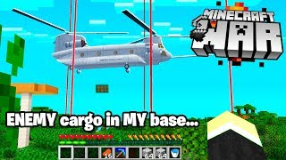 so today i SECRETLY watched my Minecraft base get OVERCLAIMED! (wow)