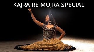 Kajra Re | Mujra Special | Bollywood Dance Choreography | Nidhi Kumar