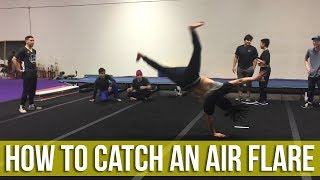 How To Catch An Air Flare | Peter Dinh | Power Move Basics