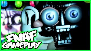 FNAF Sister Location GAMEPLAY NIGHT 1 & 2 BIDYBAB JUMPSCARE- Five Nights at Freddy's Sister Location