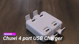Chuwi 4 port USB Charger review in Hindi - charge 4 डिवाइस एक साथ