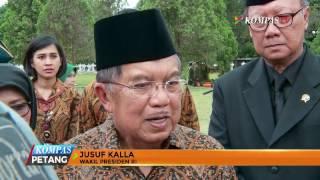 JK dan SBY Hadiri Pemakaman Mantan Mendagri Ma'ruf