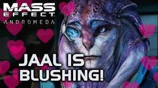 Mass Effect Andromeda - Flirting is making Jaal blush (or so he says.. it's hard to tell:)
