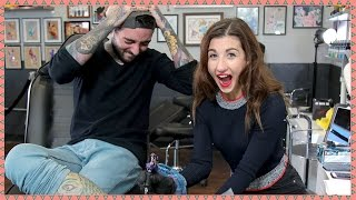 MAYBABY GETS A TATTOO | Hey Guys, It's Meg
