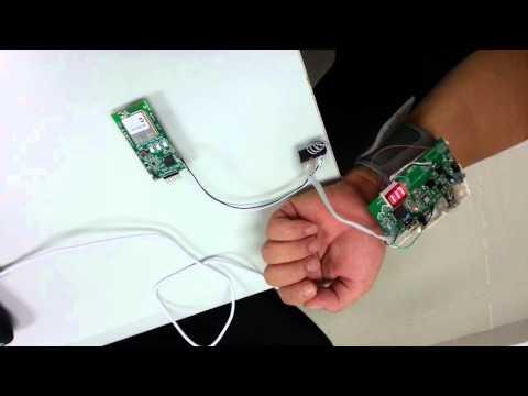 Blood pressure meter Demo movie