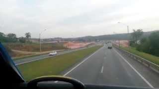 Viajando pelo Brasil - BETIM - MG - Scania K440 - Onibus Cometa Dois andares