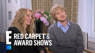 Julia Roberts & Owen Wilson Talk Family and More | E! Live from the Red Carpet